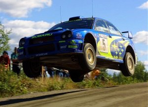 RallyFinlandia2001-RBurns-SubaruImprezaWRC