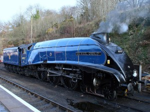 60007 Sir Nigel Gresley at Bewdley during the Severn Valley Railway Spring Steam Gala