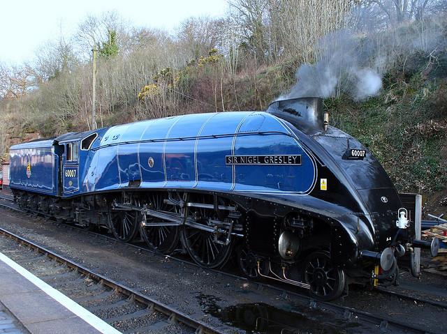 60007 Sir Nigel Gresley at Bewdley during the Severn Valley Railway Spring Steam Gala