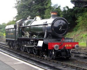GWR 4936 KINLET HALL
