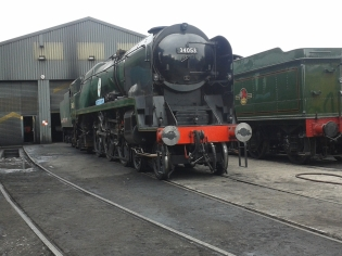Battle of Britain Pacific no. 34053 Sir Keith Park