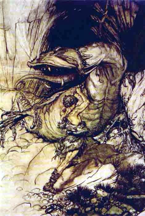 Siegfried and Fafnir