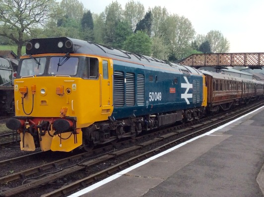 Class 50 50049 Defiance