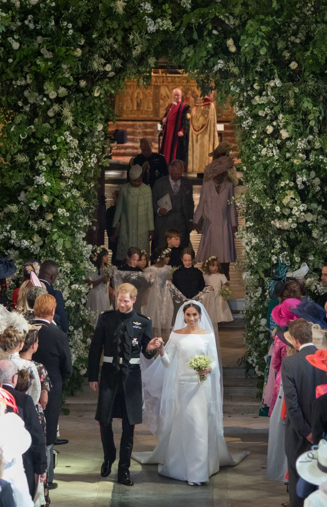 Wedding of Prince Harry and Meghan Markle, the New Duke and Duchess of Sussex