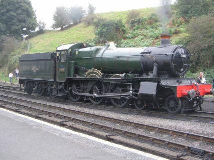 GWR 7802 Bradley Manor